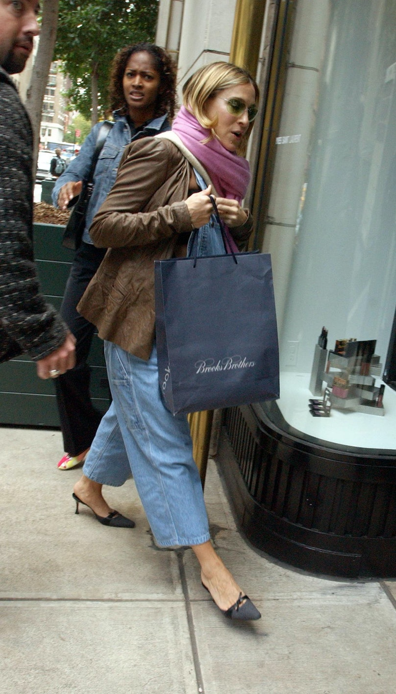 Sarah Jessica Parker Shopping In New York City
