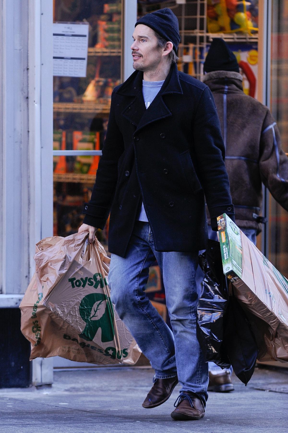 Celebrity Sightings In New York City - December 21, 2010