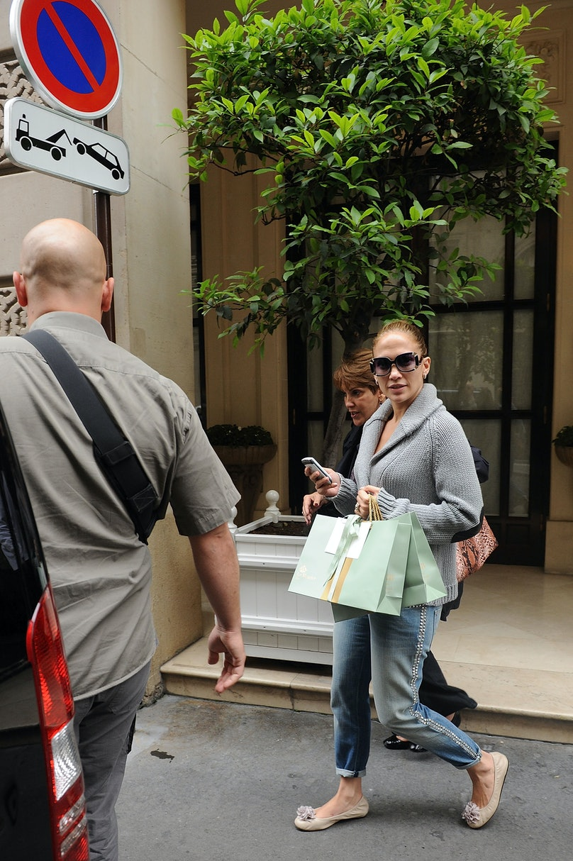 Celebrity Sightings In Paris - June 17, 2011