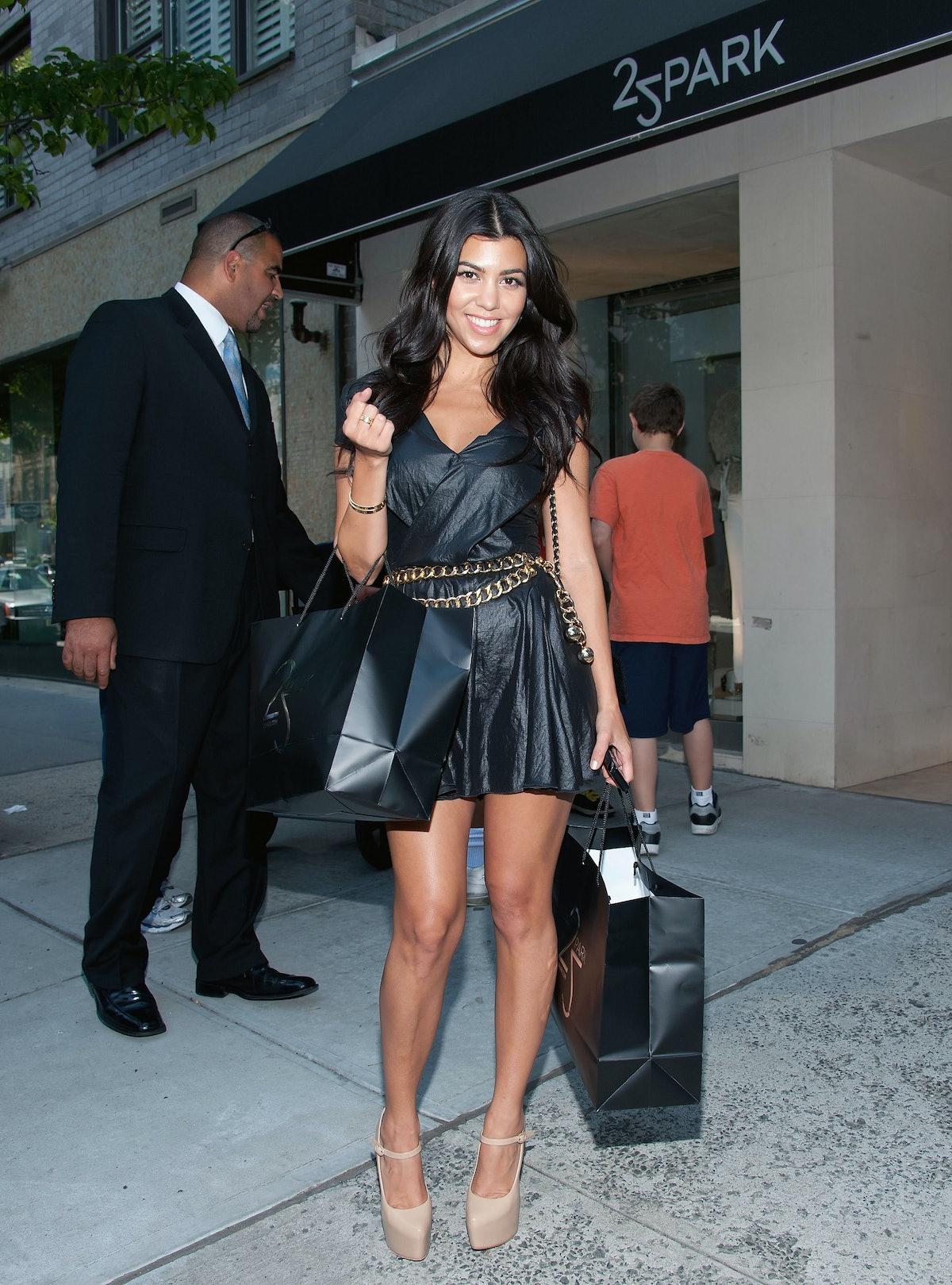 Kourtney & Khloe Kardashian Shop at 25 Park