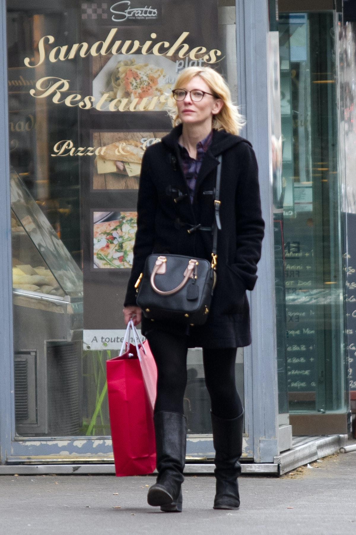 Cate Blanchett Sighting In Paris - April 4, 2012
