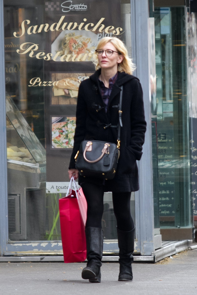 Cate Blanchett Sighting In Paris - April 4, 2012