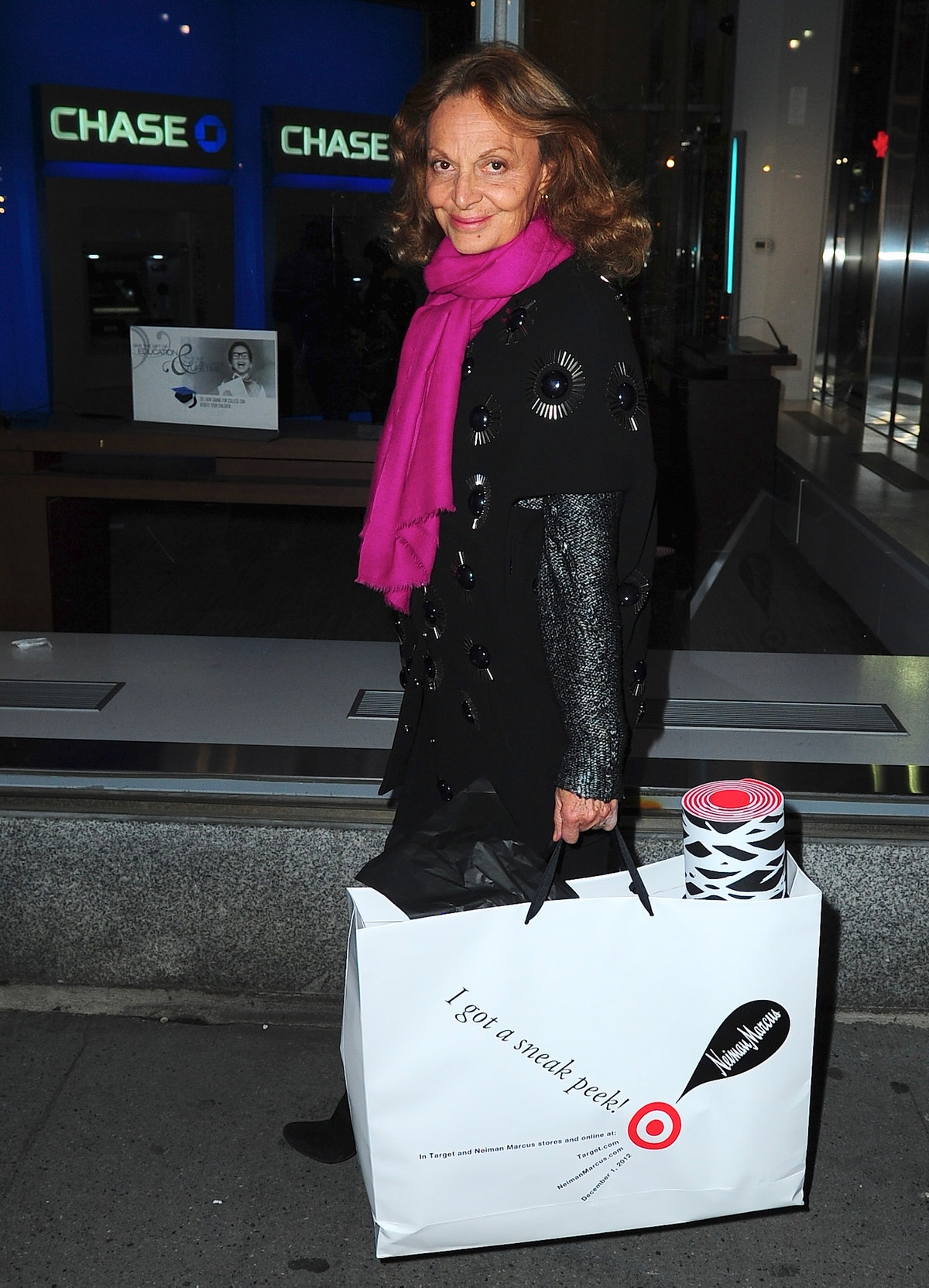 Celebrity Sightings In New York City - November 28, 2012