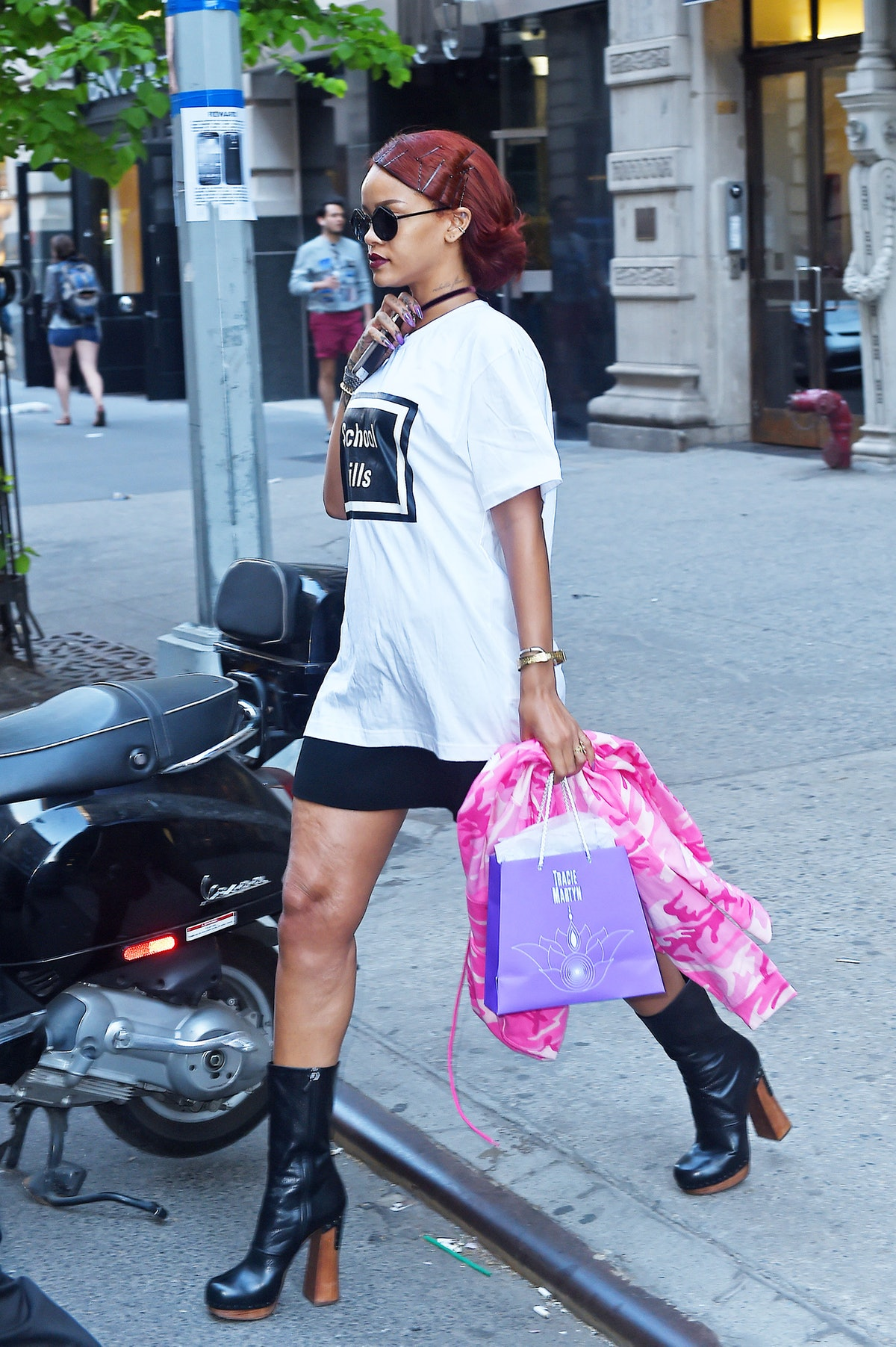 Celebrity Sightings In New York City - May 3, 2015
