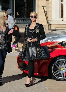 Celebrity Sightings In Los Angeles - December 24, 2013
