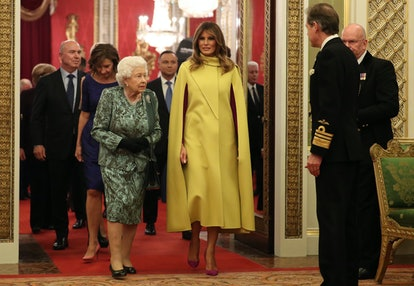 HM The Queen Hosts NATO Leaders At Buckingham Palace Reception
