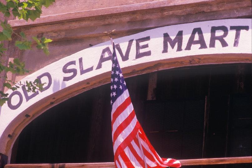 Slave mart in Charleston, SC, Boone Hall Plantation