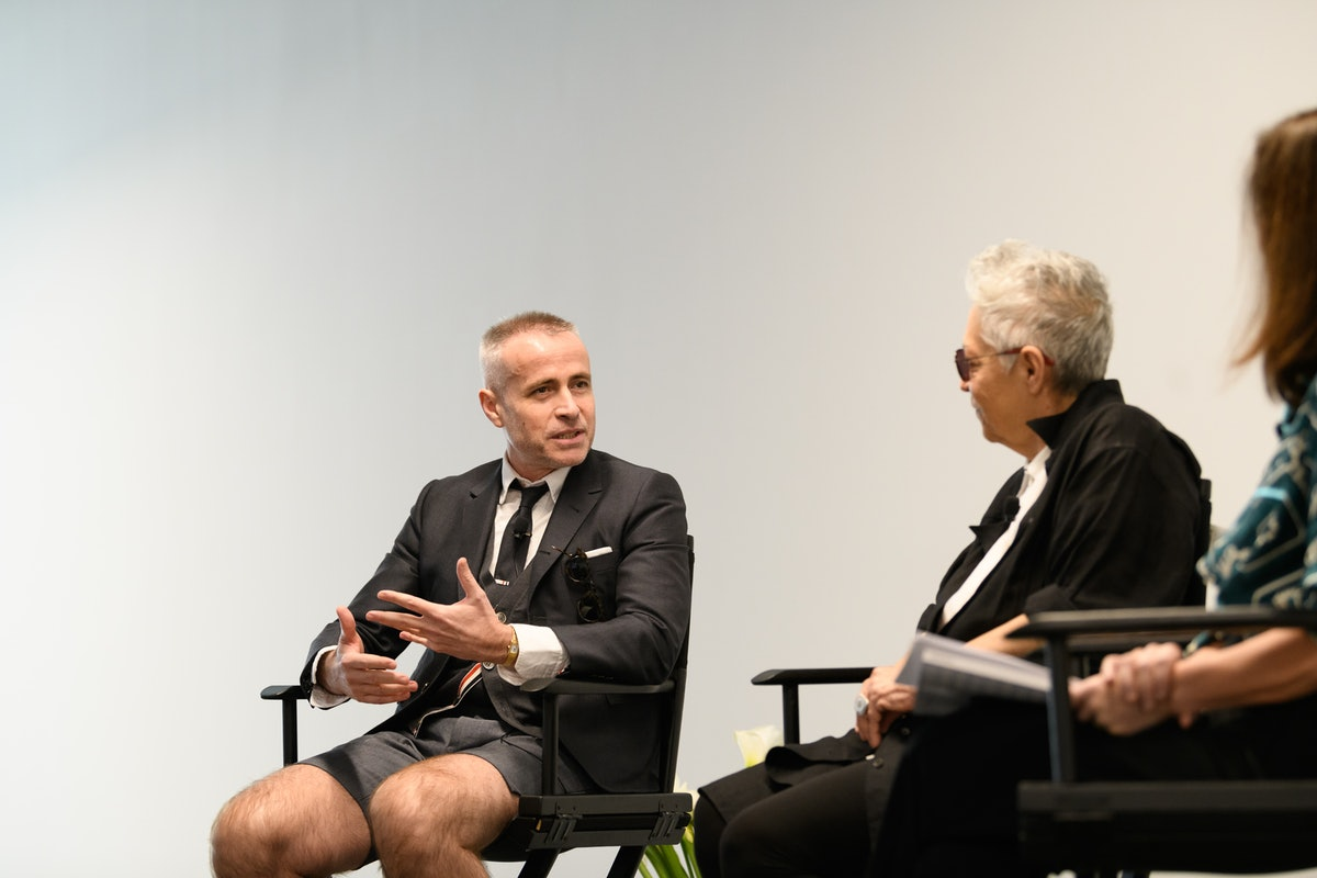 [PRIVATE FOR APPROVALS] W Magazine -- Diane Solway in Conversation: with Mera Rubell and Thom Browne