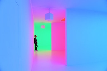 UK- Light Show Exhibition in London