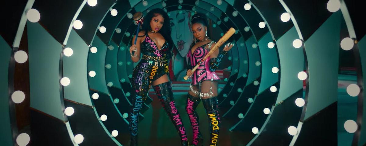 Normani and Megan Thee Stallion Diamonds music video