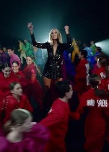 dua lipa physical music video screenshot