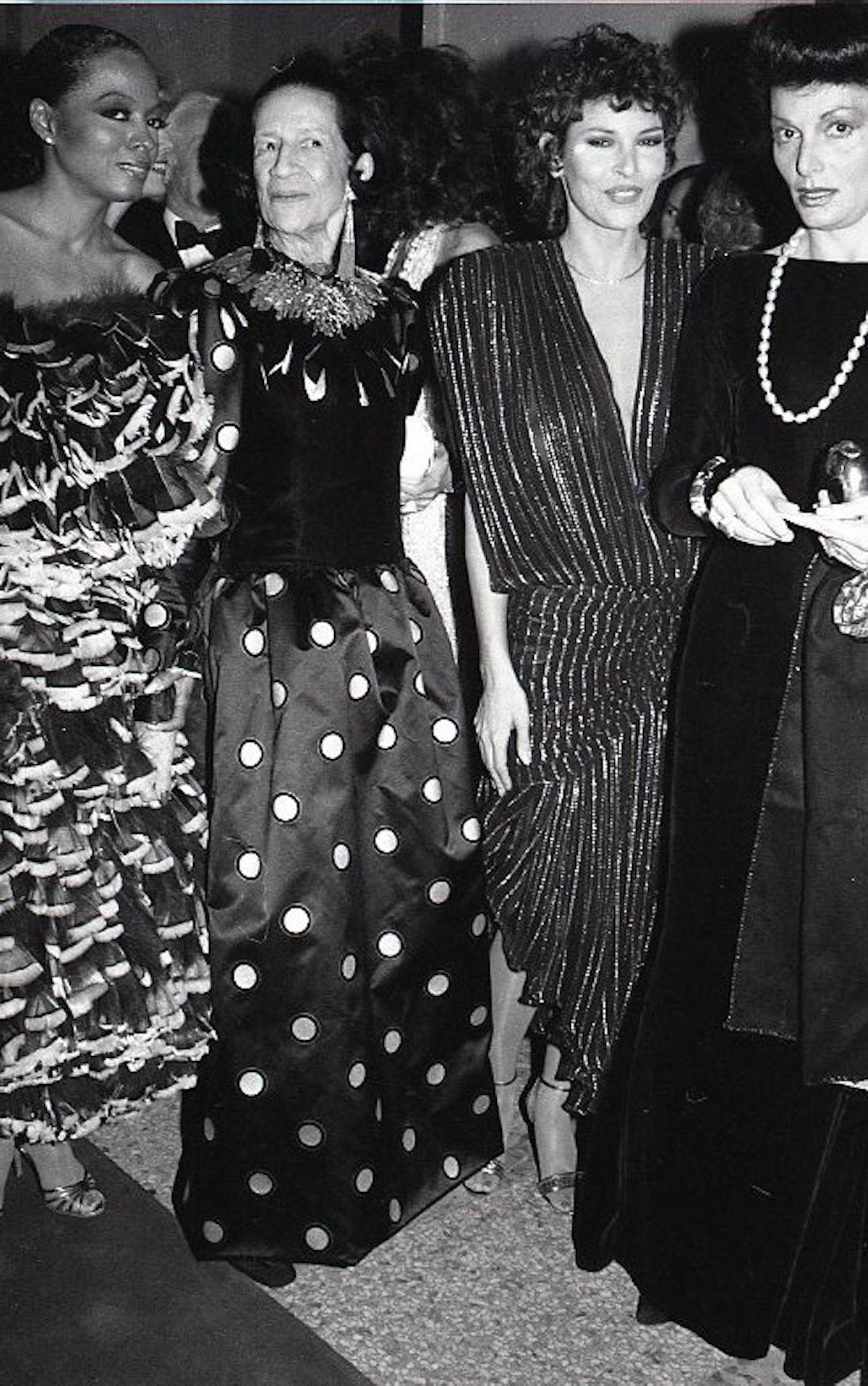 Diana Ross and Diana Vreeland
