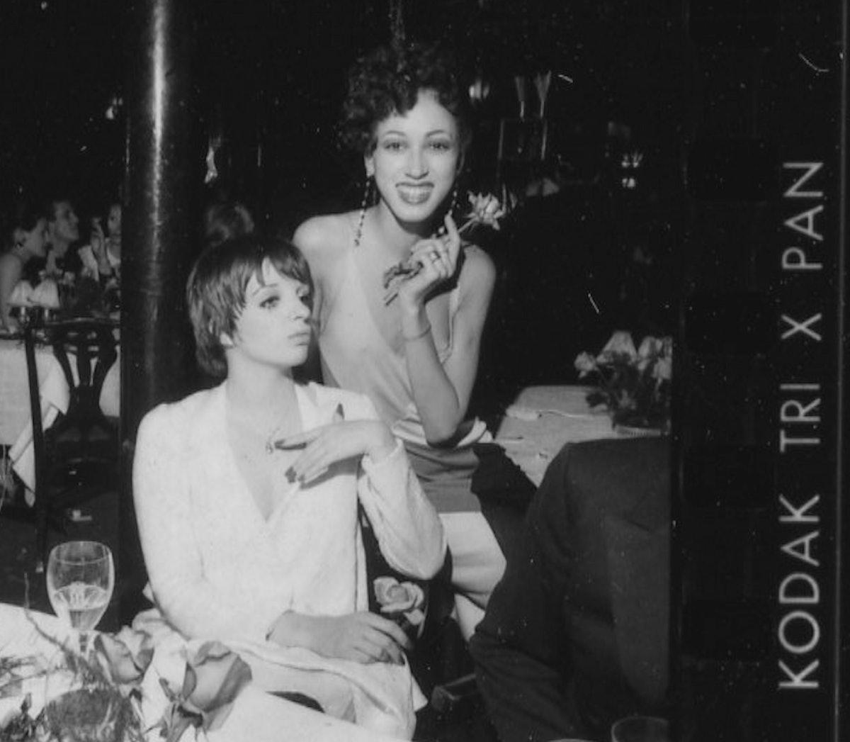 Liza Minelli and Pat Cleveland