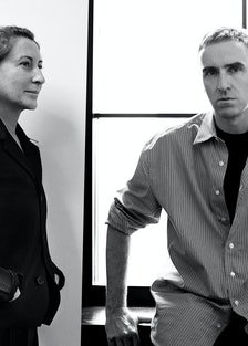 Miuccia Prada and Raf Simons