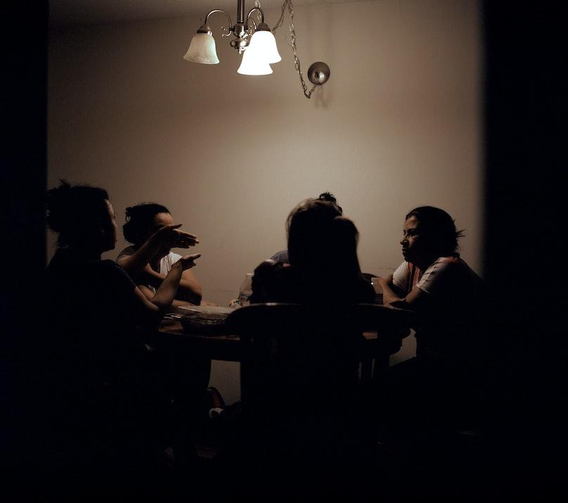 june canedo, woman, mara kuya, photobook, photo book, art, dinner table, family