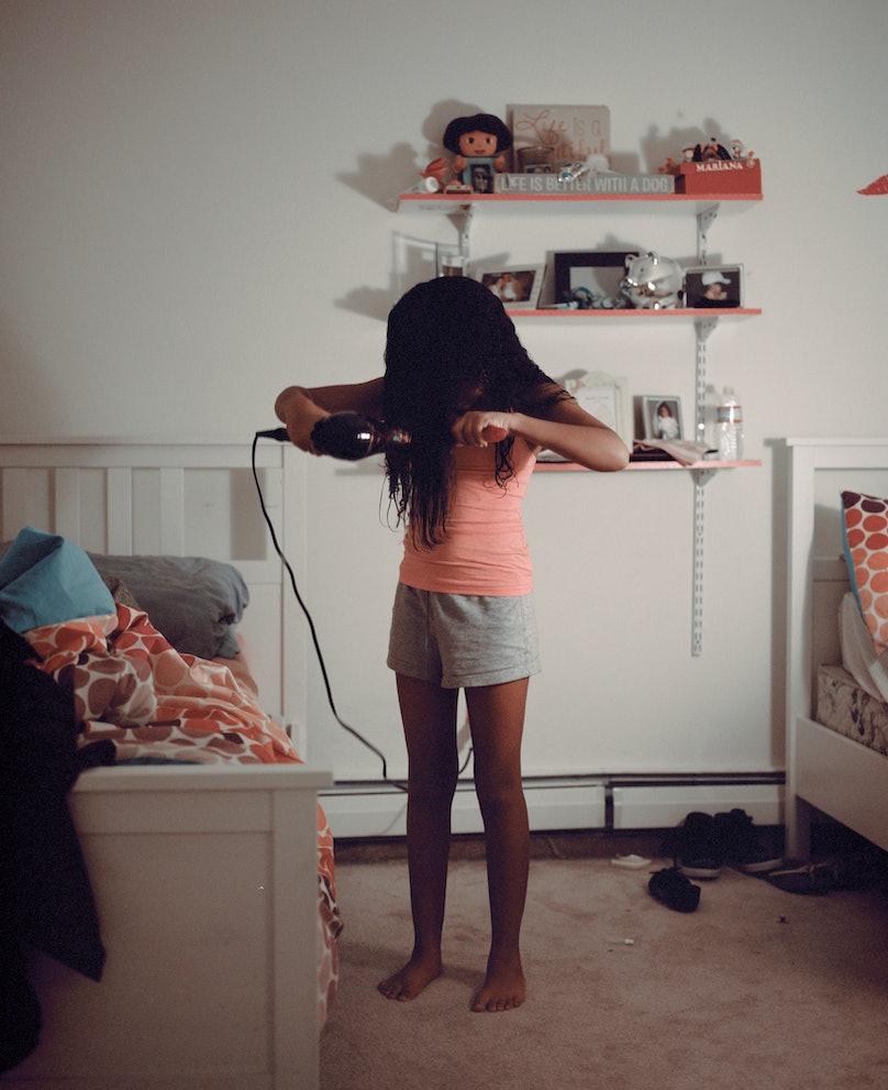 june canedo, woman, mara kuya, photobook, photo book, art, hairstyle, blow dry