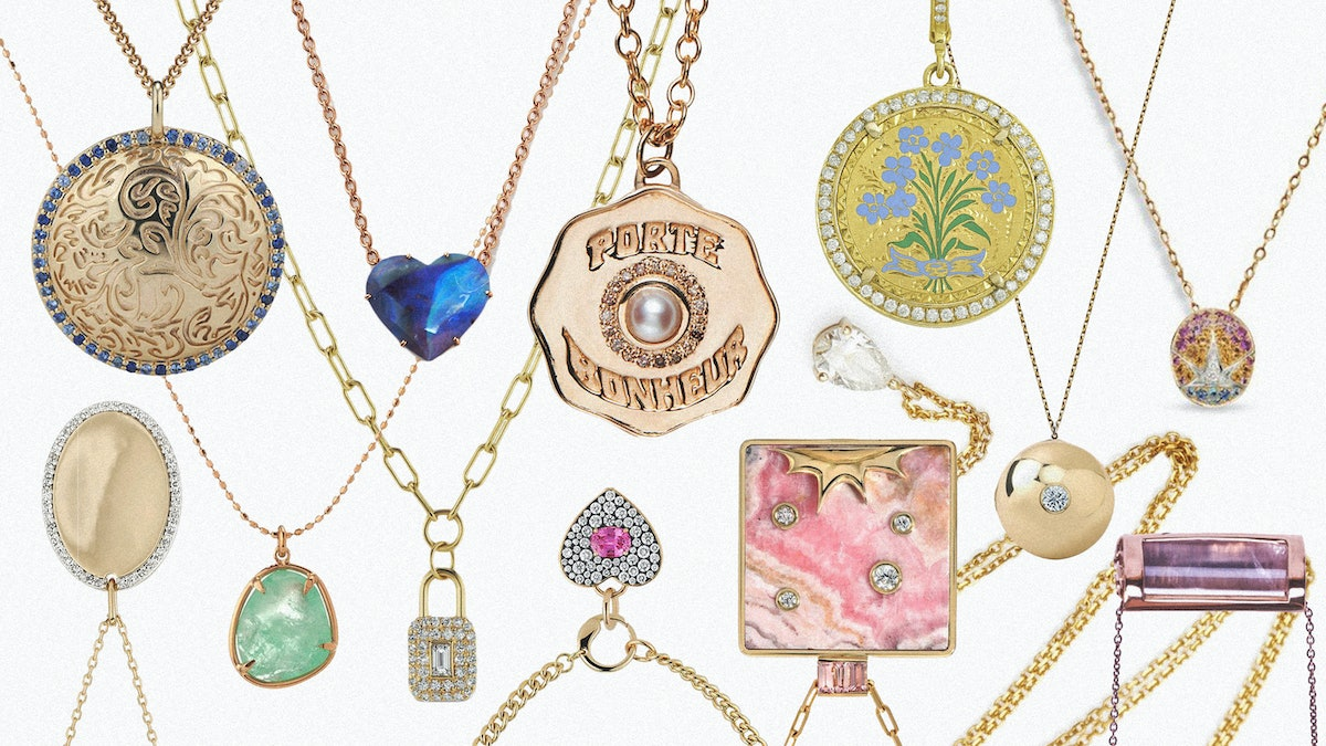 Collage of Amulets and Pendants