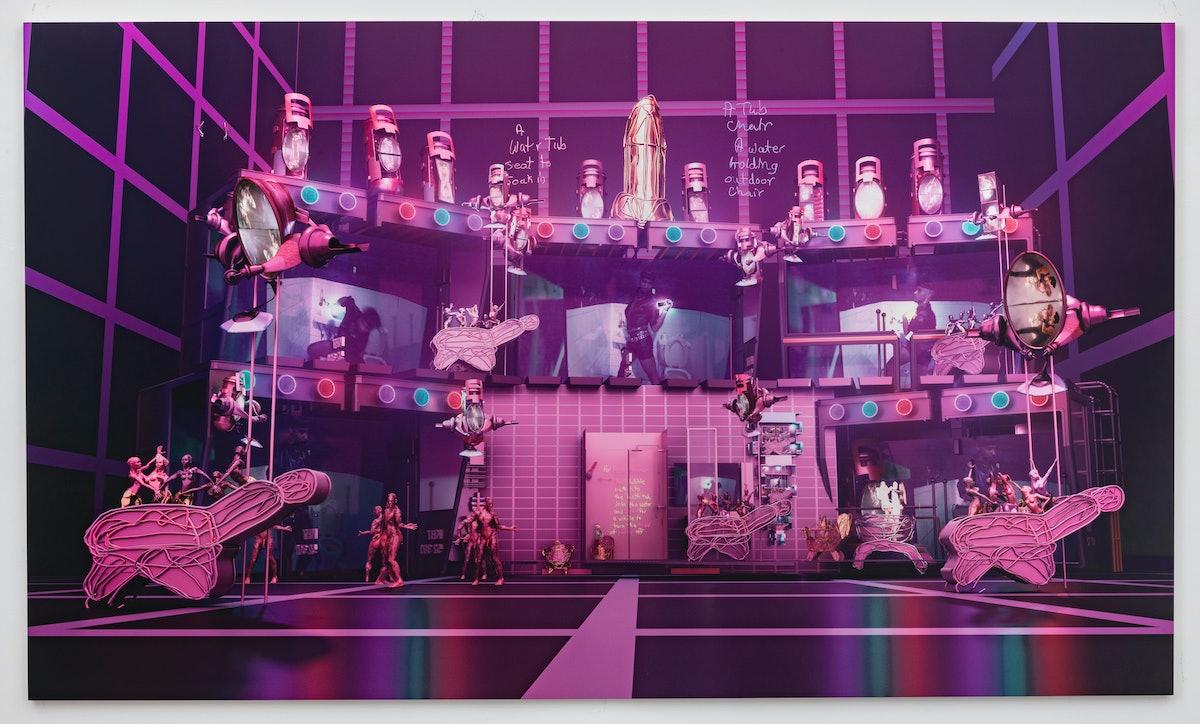 Jacolby Satterwhite Room for Demoiselles Two at Art Basel Hong Kong