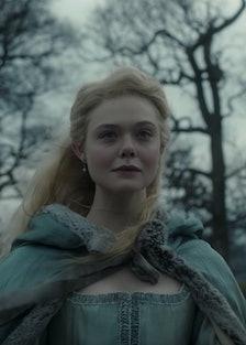 Dakota Fanning as Catherine the Great.