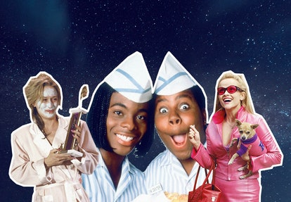 Collage with Meryl Streep and Kenan Thompson.