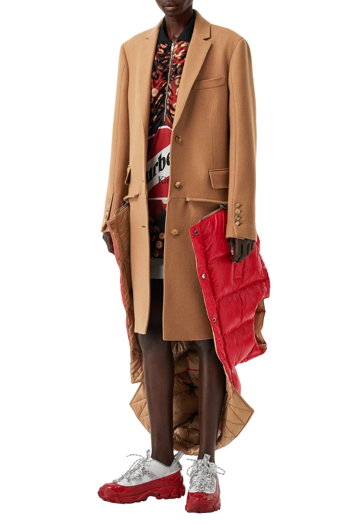 Burberry coat on sale at Nordstrom