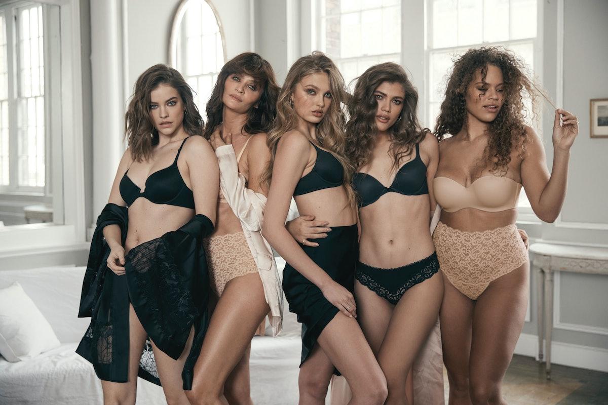 Models in a Victoria's Secret campaign