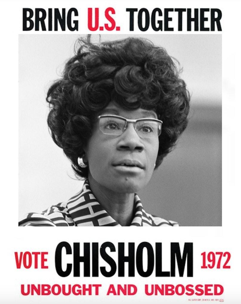 shirley chisholm poster