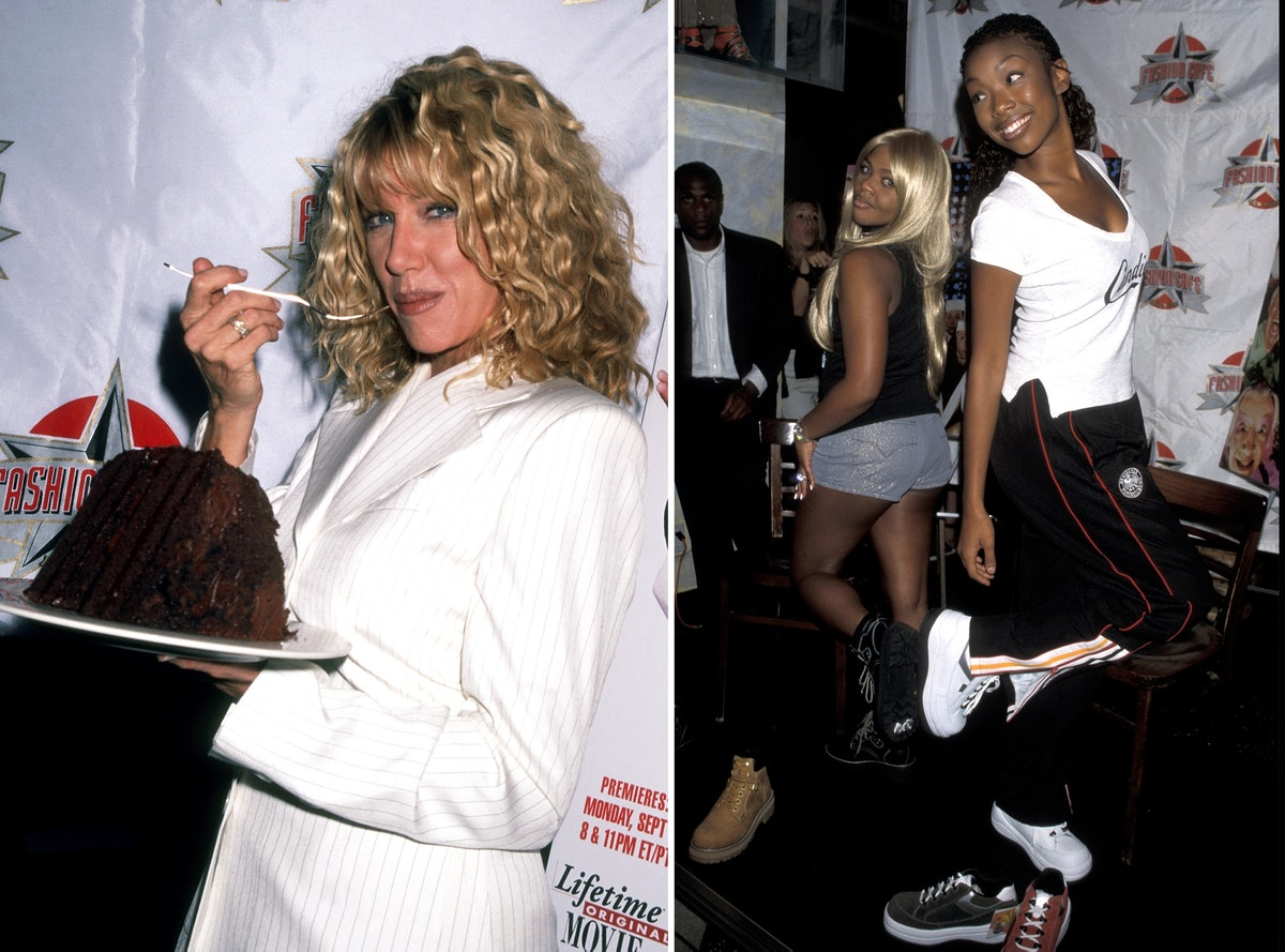 Suzanne Somers, Lil Kim, and Brandy