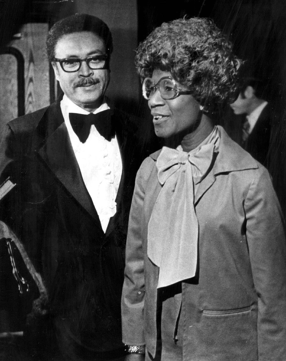 JAN 5 1979, JAN 6 1979; Testimonial Attractions; Lt. Gov. George Brown and U.S. Rep. Shirley Chishol