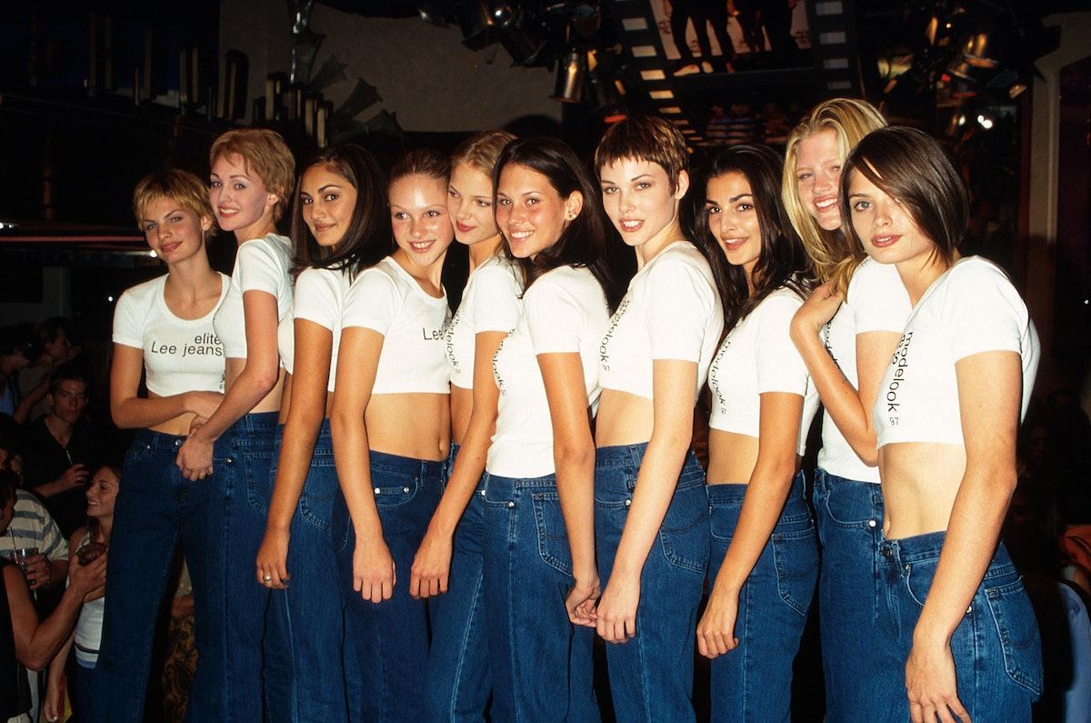 Elite Lee Jeans models