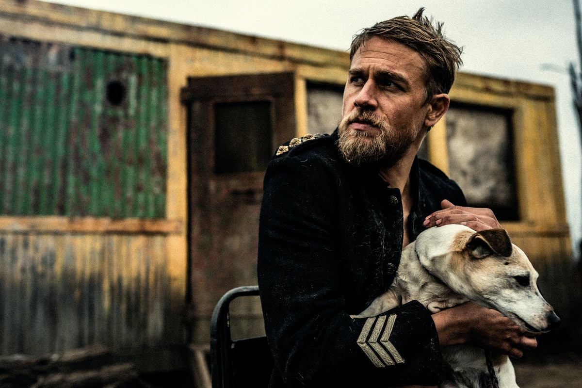 """Charlie Hunnam in """"True History of the Kelly Gang."""""""