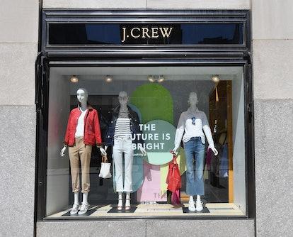 J. Crew window display
