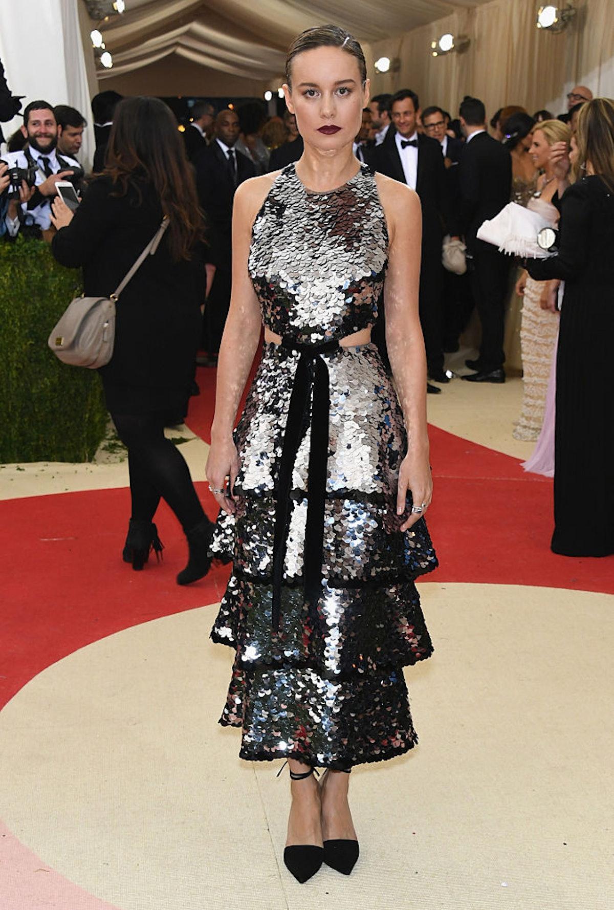 Brie Larson at the Met Gala