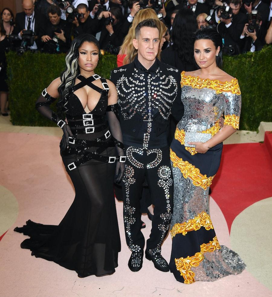 Nicki Minaj, Jeremy Scott, and Demi Lovato