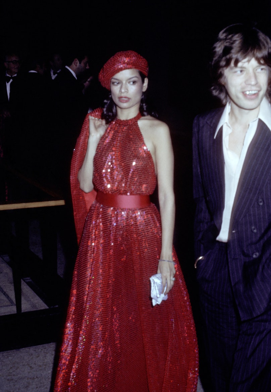 Bianca and Mick Jagger at the Met Gala