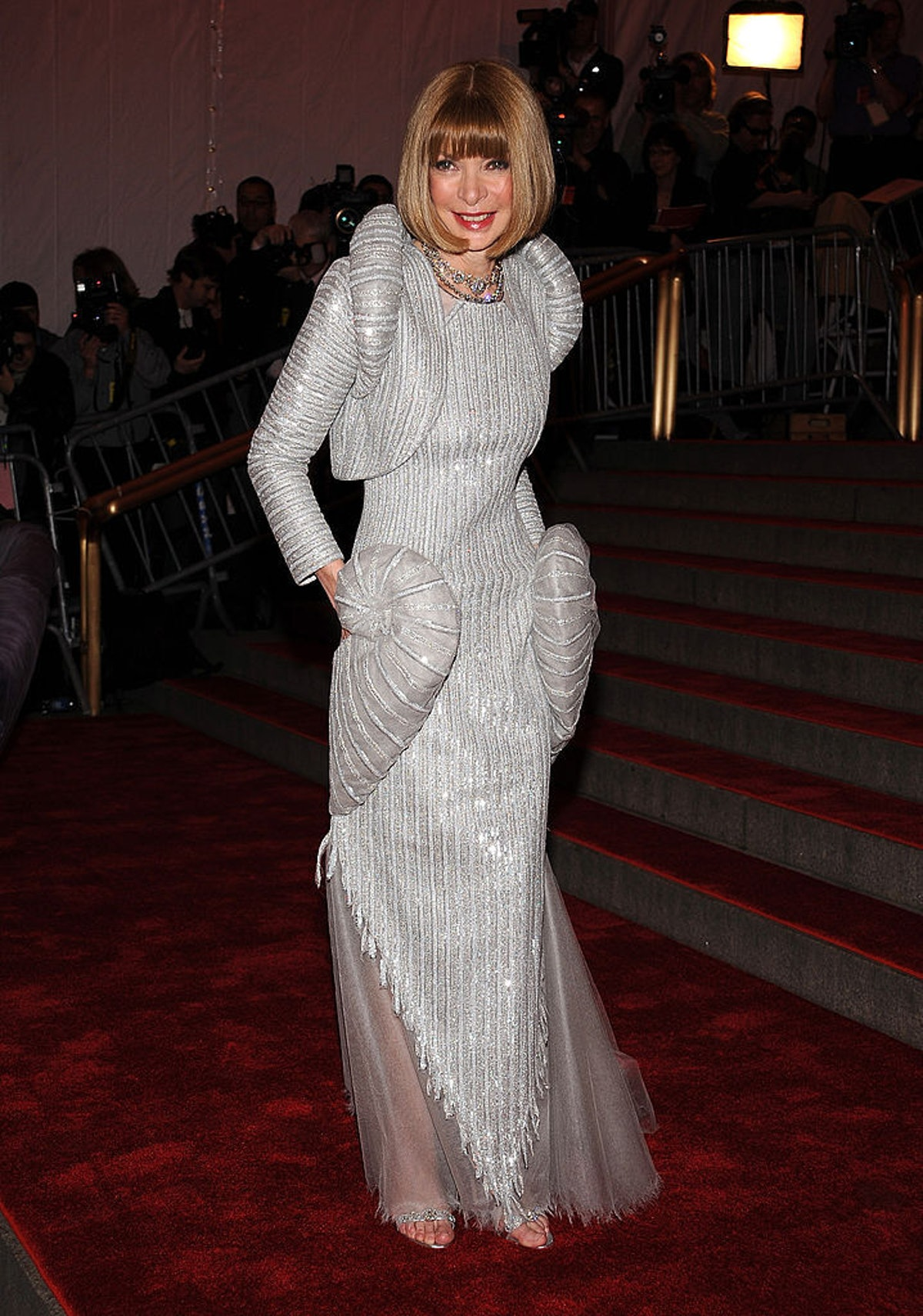 Anna Wintour at the Met Gala