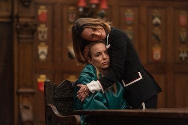 Villanelle and Helène in Killing Eve