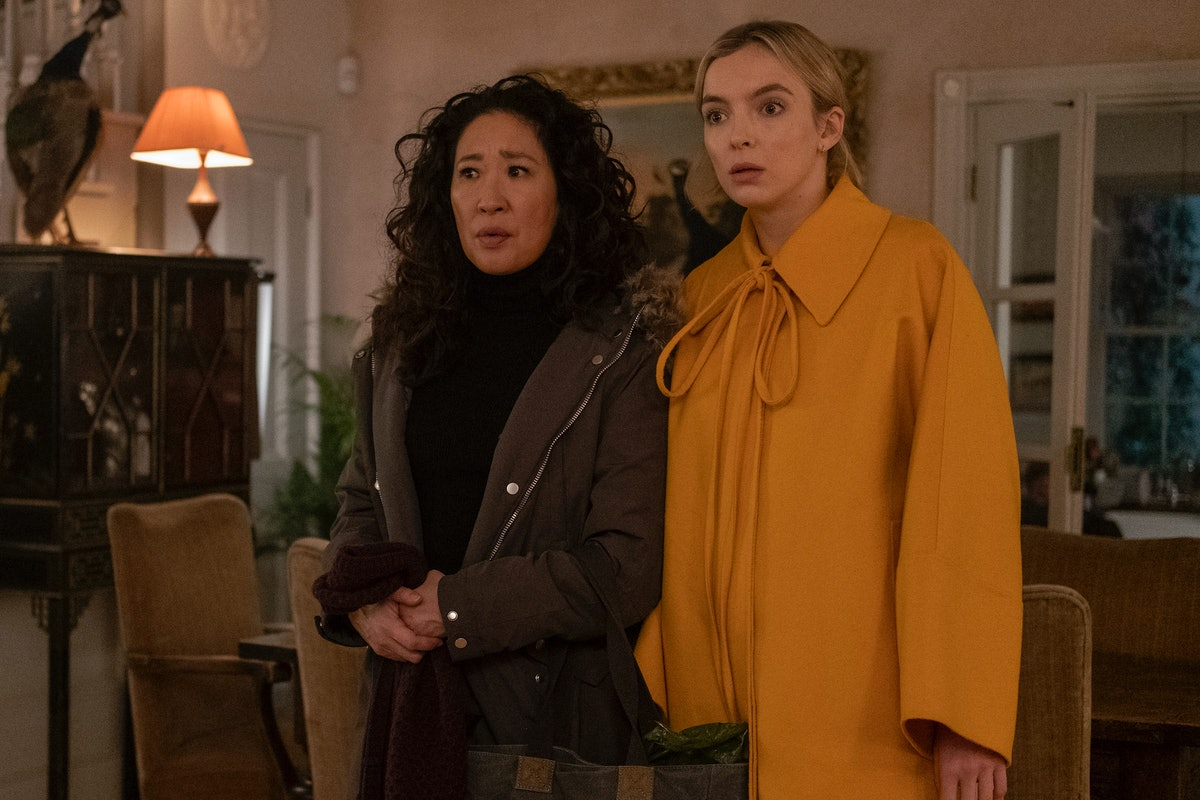 Eve and Villanelle in Killing Eve