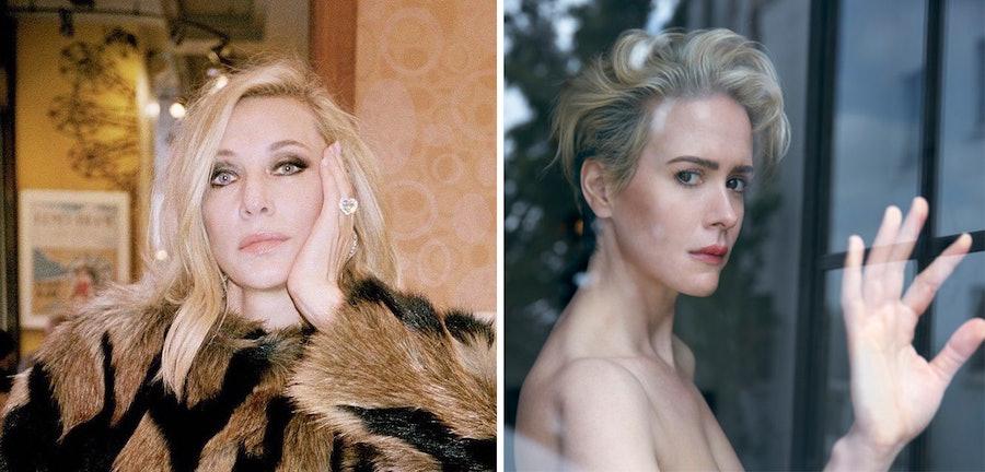 Cate Blanchett and Sarah Paulson