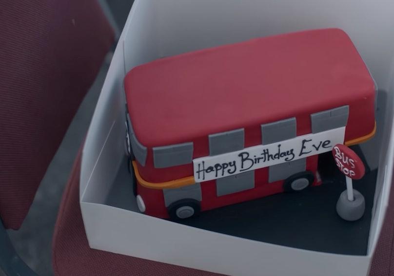 Eve Polastri's birthday cake
