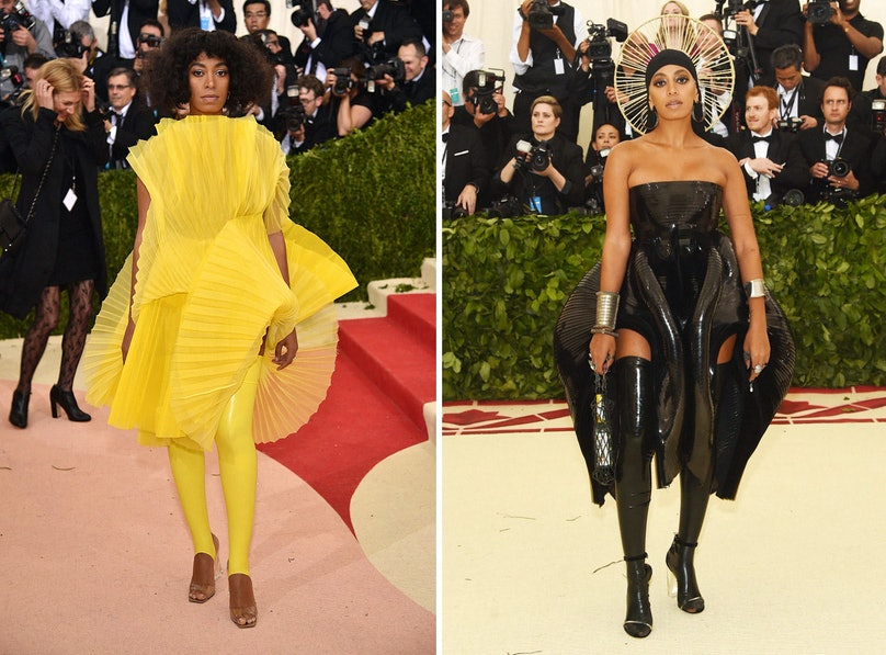 Solange at the Met Gala