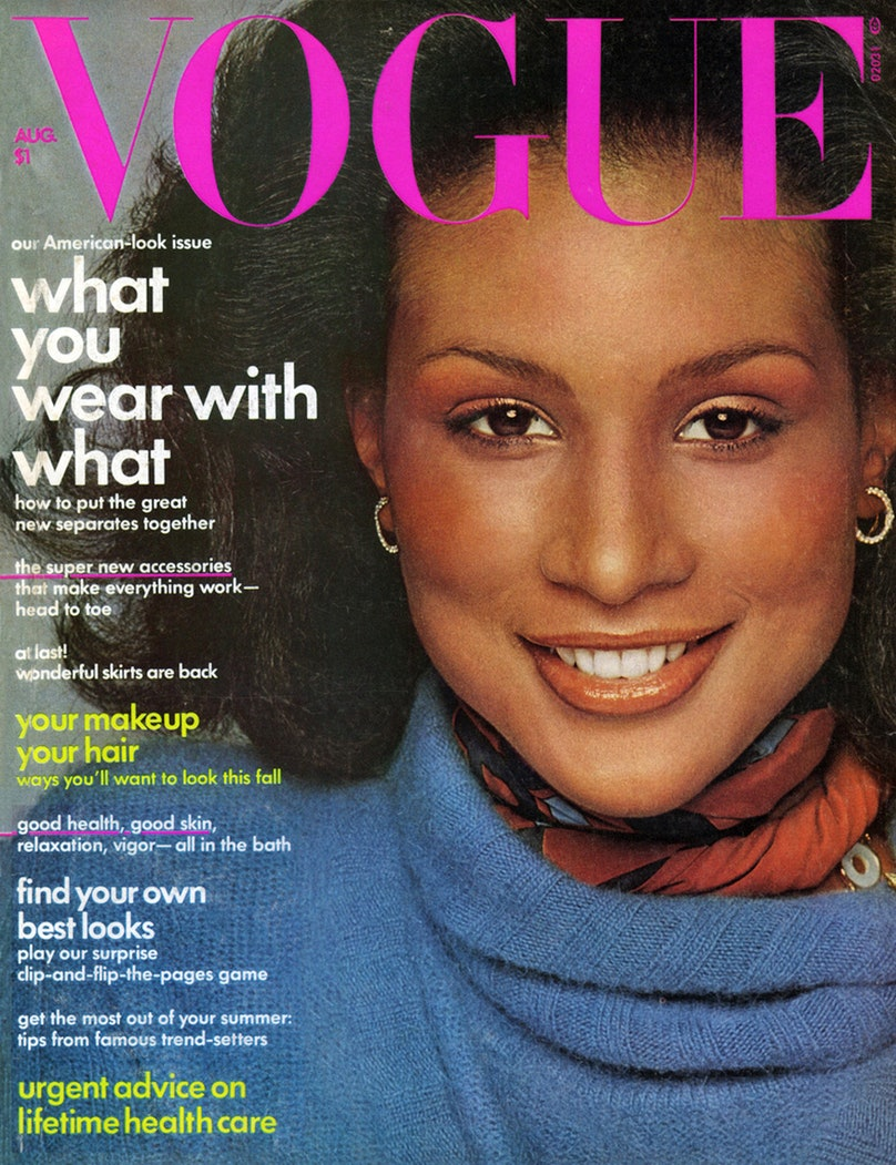Beverly Johnson's Vogue cover