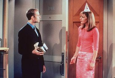 David Hyde Pierce And Jane Leeves In Frasier