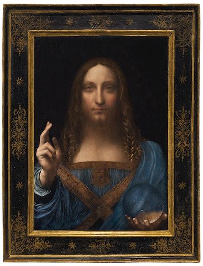 Leonardo da Vinci's Salvator Mundi painting