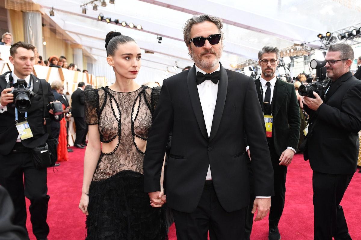 Joaquin Phoenix and Rooney Mara red carpet
