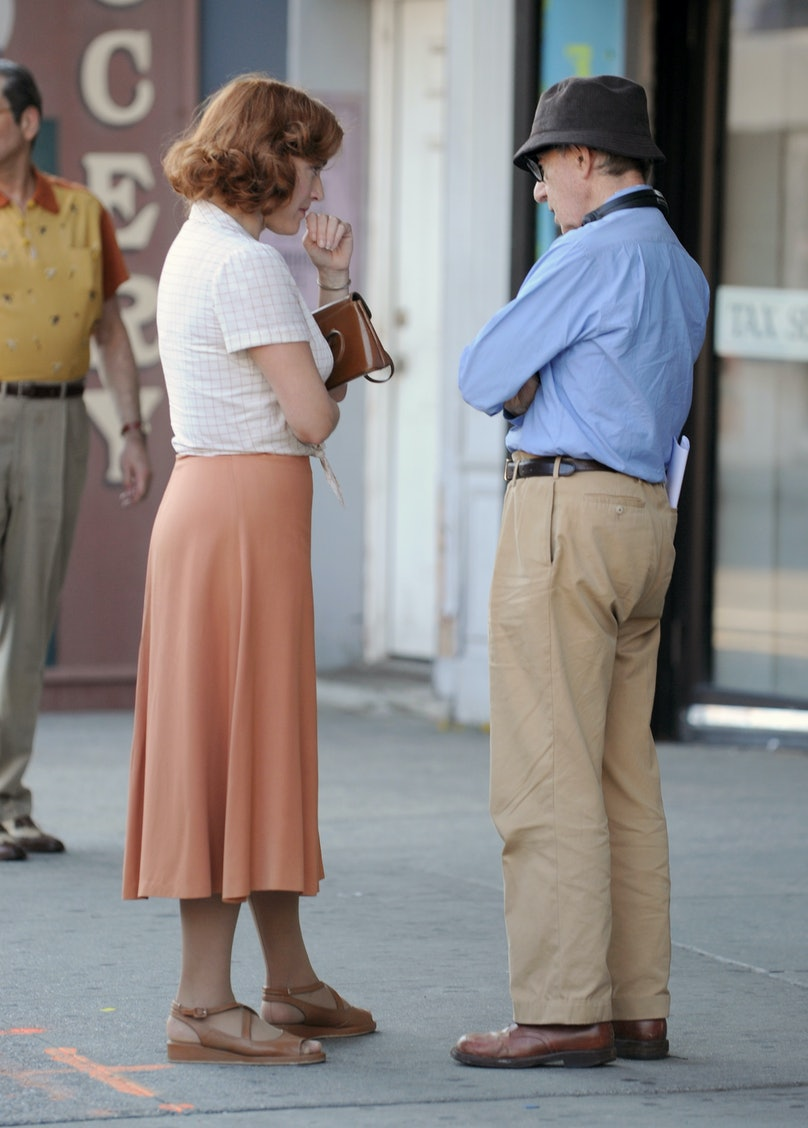 Kate Winslet and Woody Allen