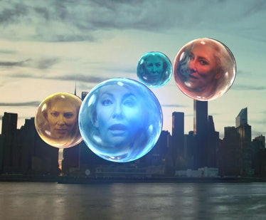 Four Cate Blanchett face