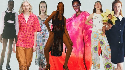 Collage of New York Fashion Week