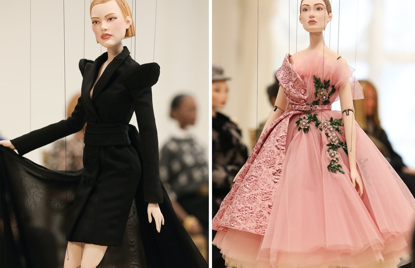 The spring 2021 Moschino show