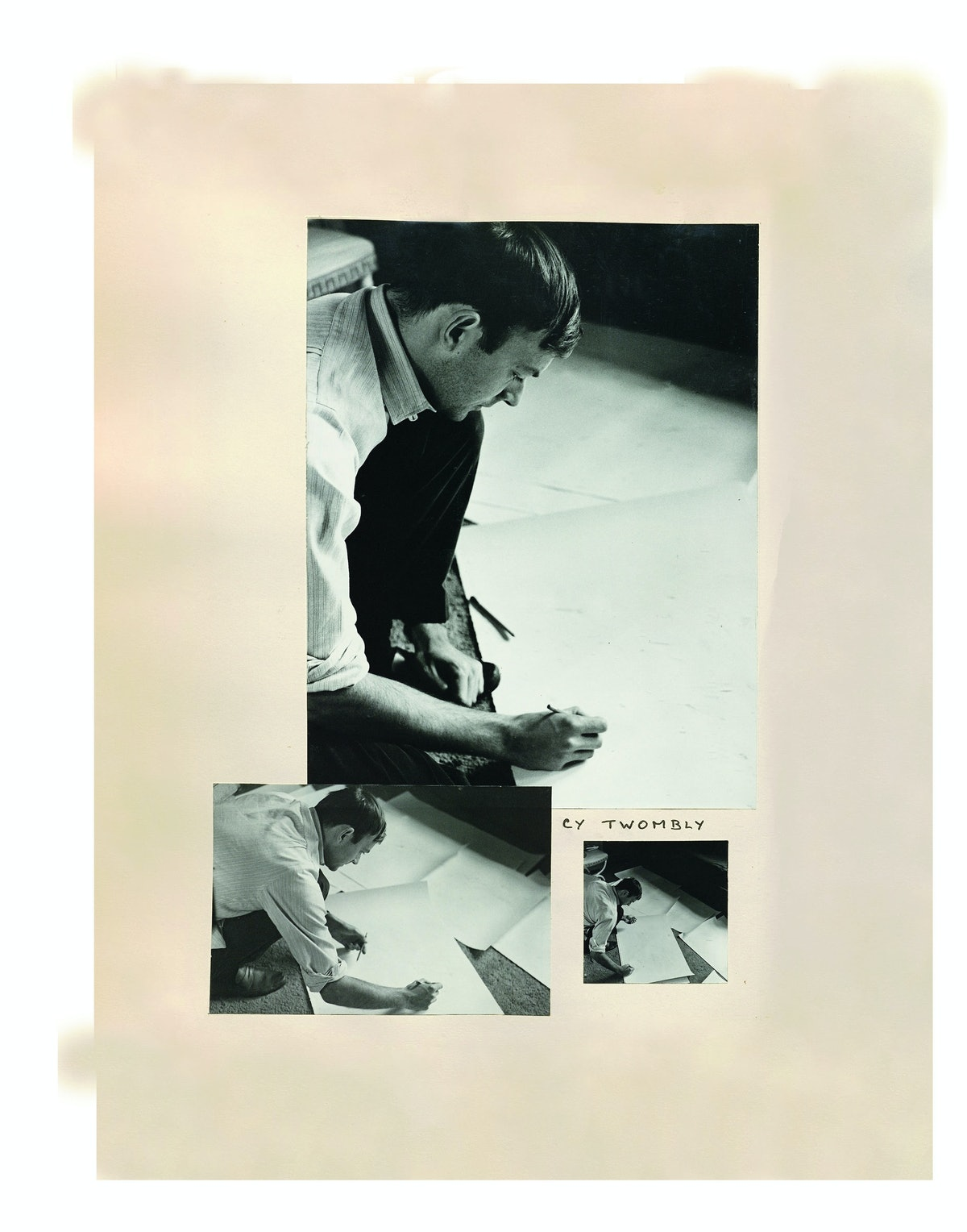 Cy Twombly drawing